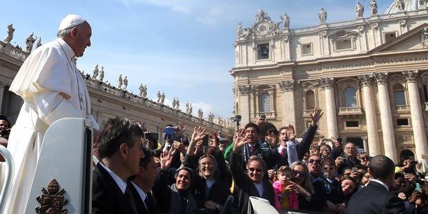 Mann sorgte für Skandal beim Papst