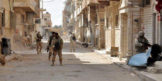 ISIS gerät immer weiter unter Druck
