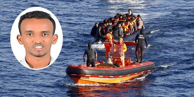 Er überlebte Drama im Mittelmeer