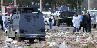 Autobombenanschlag im Südosten der Türkei