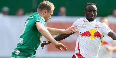 Rapid und Salzburg trennen sich Unentschieden