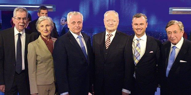 Das offizielle Endergebnis der Hofburg-Wahl