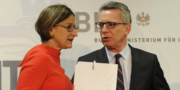 De Maiziere für EU-Deal mit Nordafrika