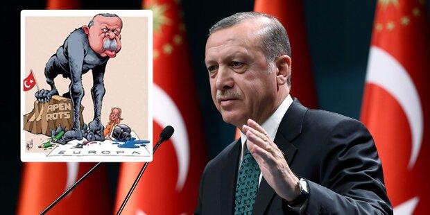 Zeitung verspottet Erdogan als Affen
