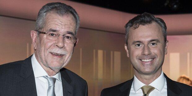 Hofburg-Wahlkampf wird im Finale heiß