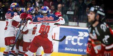 Red Bulls sind Champion der Erste Bank Eishockey Liga!