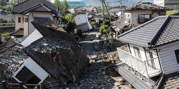 Zahlreiche Tote bei Erdbeben in Japan