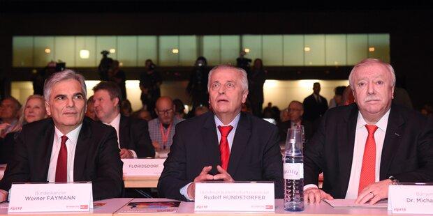 Aufstand am Wiener SPÖ-Parteitag blieb aus