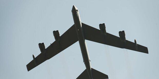 USA bekämpfen ISIS mit B-52-Bombern