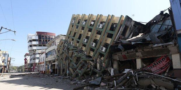Erneut schweres Beben in Ecuador