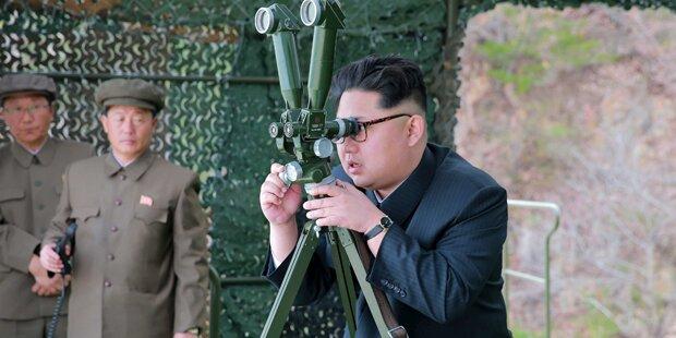 Nordkorea schockt mit U-Boot-Rakete