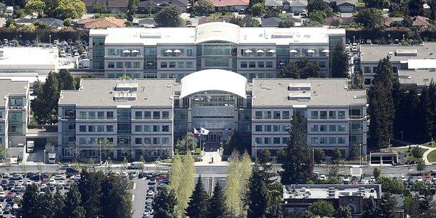 Leiche in Apple-Hauptquartier gefunden