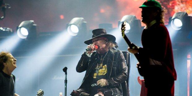 Axl Rose: Gelungener Einstand bei AC/DC
