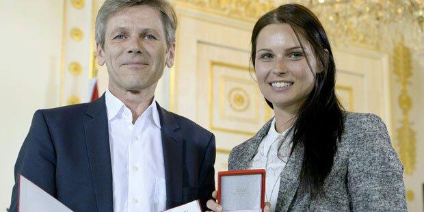 Anna Veith: Höchste Ehre für Ski-Ass