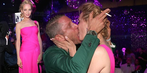 Uma Thurman: Sauer wegen diesem Kuss