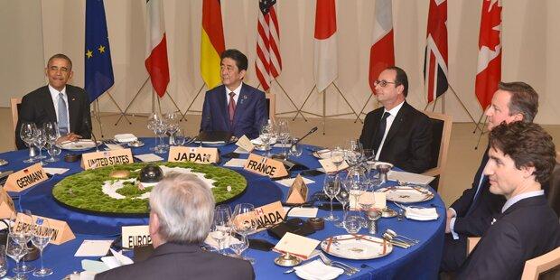G-7-Gipfel stellt am Freitag Aktionsplan gegen Terror vor