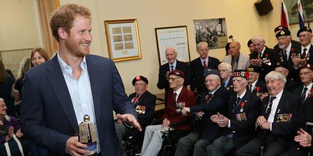 Prinz Harry, das ist ein Fauxpas