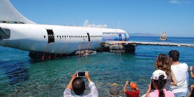 Darum wurde hier ein Airbus im Meer versenkt