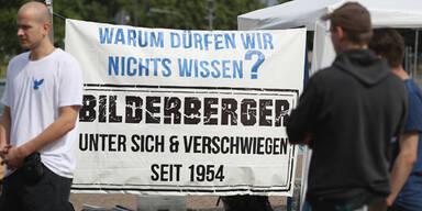 Proteste bei umstrittenem Bilderberg-Treffen