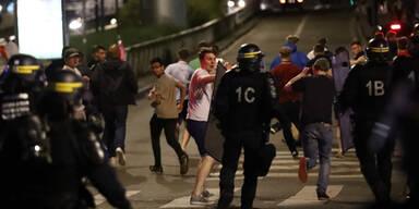 36 Hooligans in Lille festgenommen