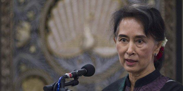 Amnesty entzog Suu Kyi verliehenen Ehrentitel