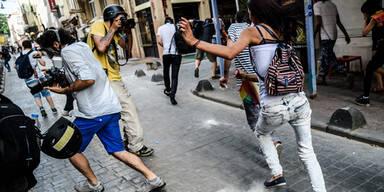 Türken schießen auf Homosexuelle