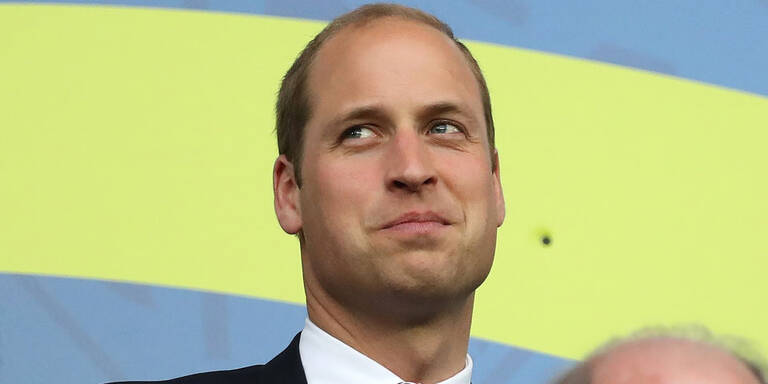 So normal reist Prinz William