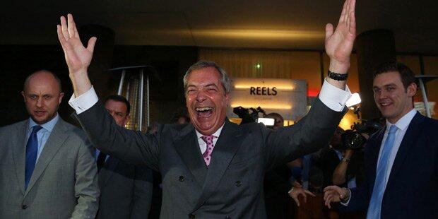 Brexit: Briten treten aus der EU aus