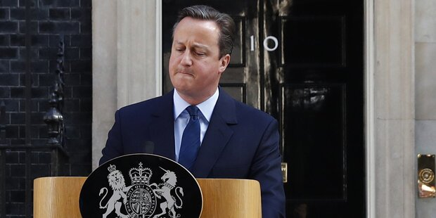 Cameron zieht sich aus Parlament zurück