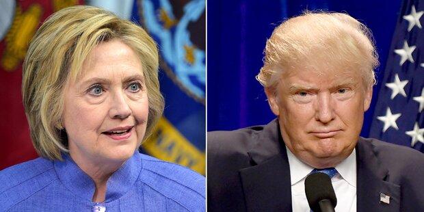Dallas: Trump & Clinton sagen Wahlkampfauftritte ab