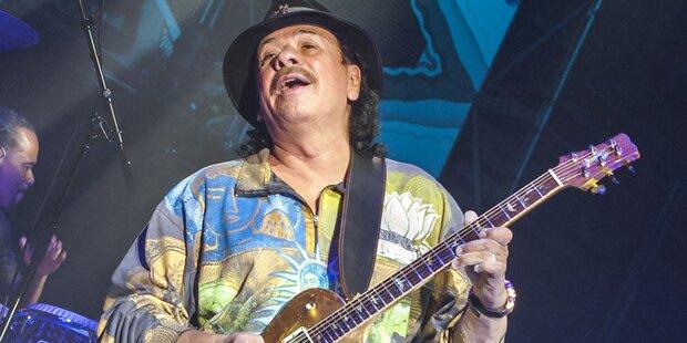 Santana kommt nach Wien