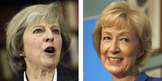 Zwei Frauen kämpfen um Cameron-Nachfolge