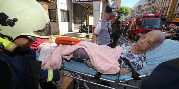 Sechs Tote bei Brand in Seniorenheim in Taiwan
