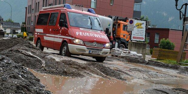 Wieder schwere Unwetter über Salzburg