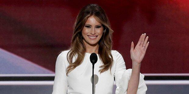 Internet lacht über Songzitat von Trumps Frau