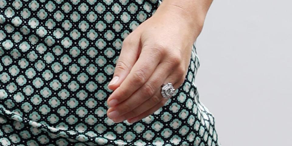 Pippa Middleton mit Verlobungsring