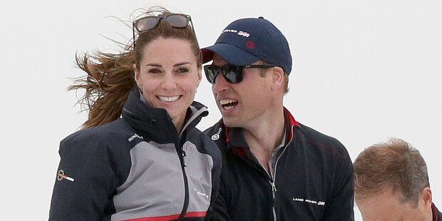 Kate: Im Privatjet nach Frankreich