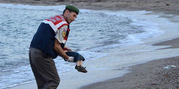 Jetzt spricht der Vater des toten Flüchtlingsbuben
