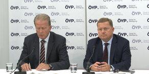 Wechsel an der ÖVP-Spitze