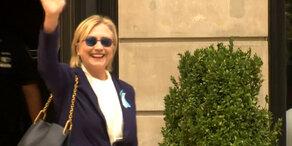 Hillary Clinton: Zu krank für das Präsidentenamt?
