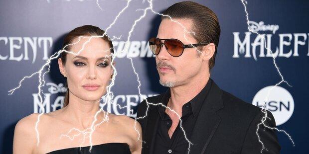 Misshandelte Brad Pitt seine Kinder?