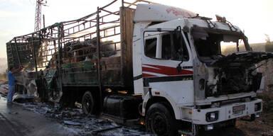 Syrien: 20 Todesopfer bei Angriff auf Hilfskonvoi