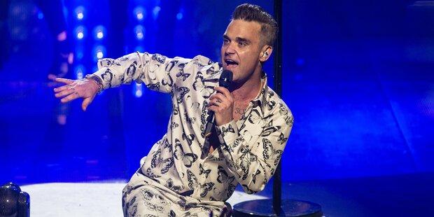 Robbie: So cool war sein iTunes-Konzert