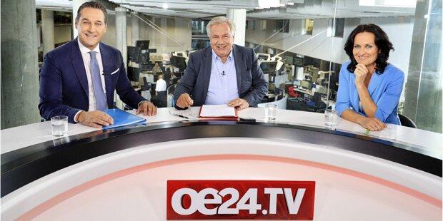 oe24.TV: Politiker-Duell als Thriller