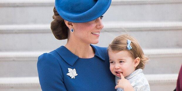 Prinzessin Charlotte verzaubert alle