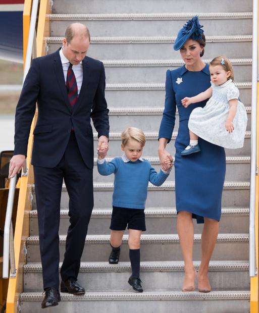 Prinz William, Prinz George, Herzogin Kate & Prinzessin Charlotte in Kanada