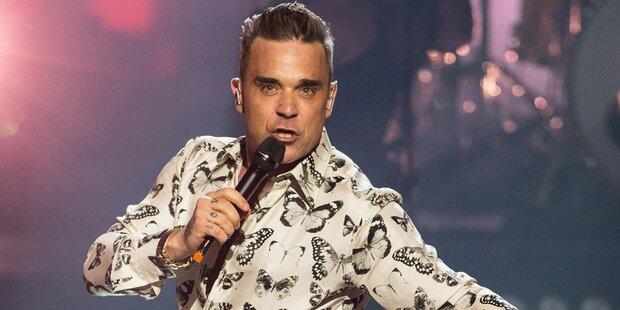 Robbie Williams 2017 in Wien