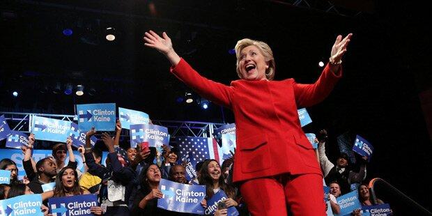 TV-Duell: Clinton führt Trump vor