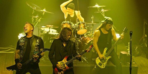 Metallica spielten Überraschungs-Konzert