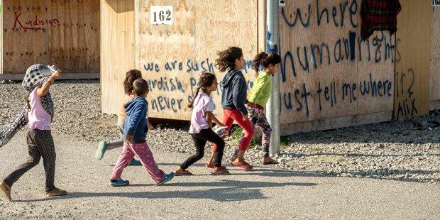 Asyl: Streit um 50 Kinder